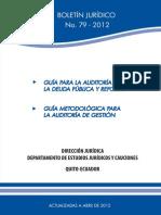 Guía Metodológica Para La Auditoría de Gestión