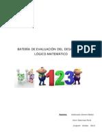 Batería de Evaluación Del Desarrollo Lógico