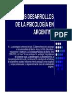 4.1 Psicologia en Arg