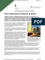 Otro Intento Para El Derecho Al Aborto-Pag12-9!4!2014