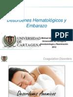 Coagulopatía y Embarazo
