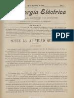 La Energía Eléctrica. 10-10-1901, n.º 7