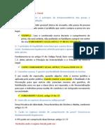Questionário Revisão Penal Respondido Aluna NEIDE