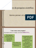 Principios Da Pesquisa Cientifica