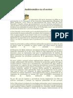 Tecnologías Ambientales en El Sector Azucarero