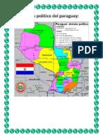 Mapa Político Del Paraguay