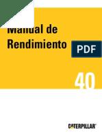 Manual 40 Caterpillar Español