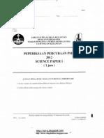 Past year Science paper Kelantan(F1-3)(dwibahasa)-pmr