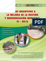 Manual de Plan de Incentivos PI 2012