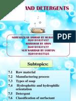 Detergent PPT (FWM)