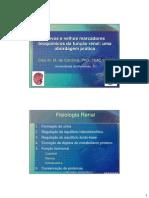 Novos e Velhos Marcadores Bioquimicos Da Funcao Renal Caio Cordova