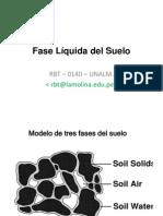 EDAFO Clase 6 Agua