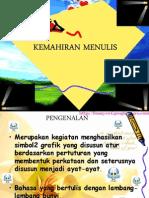 KEMAHIRAN MENULIS BAHASA MALAYSIA