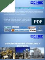 Departamento de Proyectos y Servicios 2014