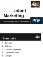 Le content marketing