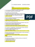 Cuestionario Tema Entrevista Familiar Dr Rafael Estrada Sánchez