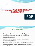 Primary and Second Packaging
