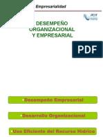 005 Desempeño Organi y Empresarial y Niveles 2013