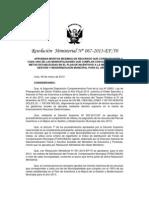 Rm067_2013ef50 Aprueban Montos Máximos de Recursos Que Corresponden a (1)