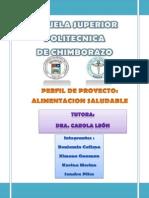 Perfil - Salud Publica