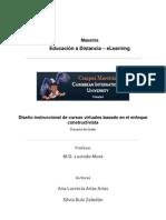 Diseño Instruccional de Cursos Virtuales Basado en El Enfoque Constructivista