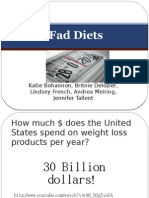 Fad Diets PowerPoint