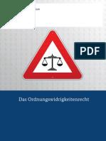 Das Ordnungswidrigkeitenrecht