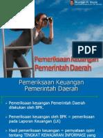 Pemeriksaan Keuangan Pemerintah Daerah