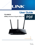 TD-W8970 User Guide