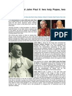 John XXIII and John Paul II