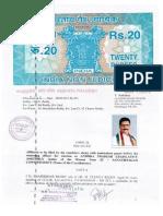 M Shashidhar Reddy(Congress) AFFIDAVIT FILED OF SANATHNAGAR CONSTITUENCY