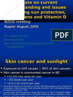 Update on Sun Protection 2009