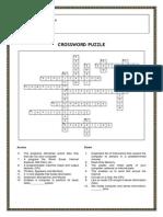IT Crossword Puzzle