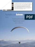 Psychedelics and extreme sports