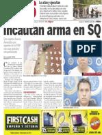 Policiaca 26 de abril 2014