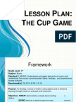 lesson plan-the cup game