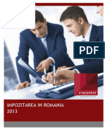 Fiscalitatea in Romania 2013