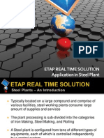 ETAP Real Time_Steel Plant