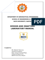 Design & Drafting Lab Manual