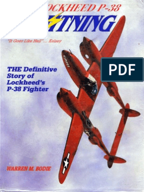 The Lockheed P 38 Lightning The Definitive Story Fighter