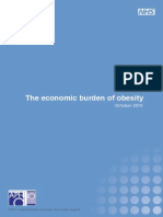 The Economic Burden of Obesity