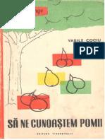Sa Ne Cunoastem Pomii - V.cociu - 1959 - 155 Pag