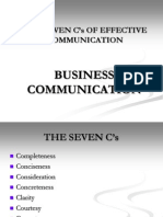 seven cs of effective communication