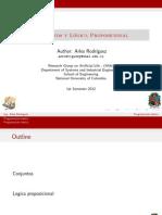 3. Conjuntos y Lógica Proposicional