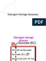 Glycogen Storage Deseases