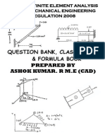 FEA QUESTION WITH CLASS NOTES AND FORMULA BOOK