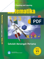Bse - 7 Smp - Contextual Teaching and Learning Matematika
