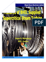 BHEL Supplied Supercritical Steam Turbine