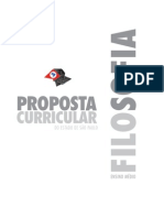 Proposta Curricular - Filosofia