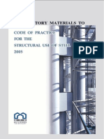 Explanatory Materials to Code of Practice for the Structural Use of Steel 2005
